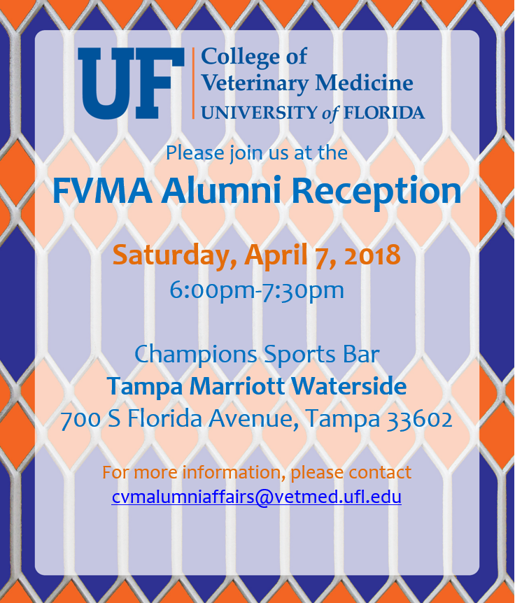 Join us on 4/7/2018 from 6- 7:30pm at Champions Sports Bar, Tampa Marriott Waterside