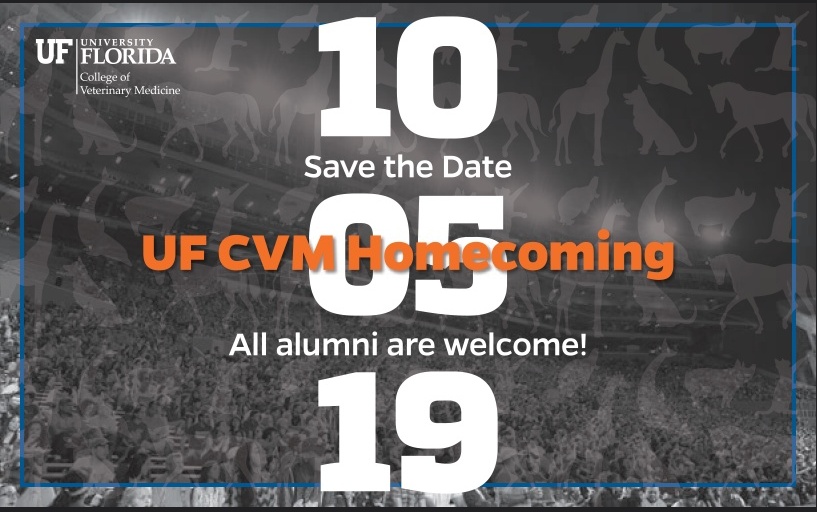 UF CVM Homecoming celebration 10.05.19